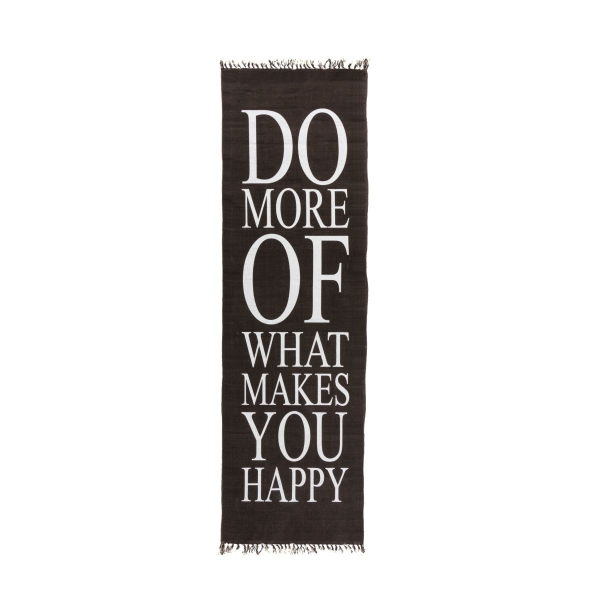 Teppich - Do more of what makes you happy