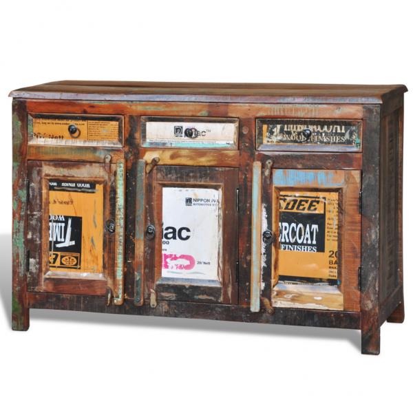 Shabby Chic Kommode aus Massivholz  Vintage # Vintage Möbel Kommoden