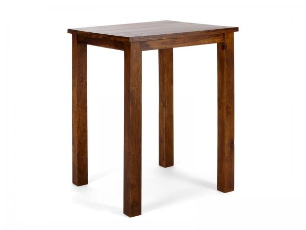 Bartisch aus Massivholz Palisander im Kolonial Möbel Look