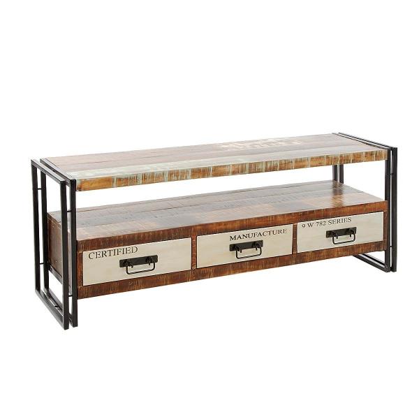 industrie m bel sideboard massivholz delhi. Black Bedroom Furniture Sets. Home Design Ideas