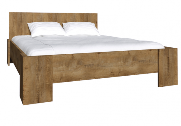 bettgestell bett mit lattenrost tr ffel aus holz 180 cm. Black Bedroom Furniture Sets. Home Design Ideas