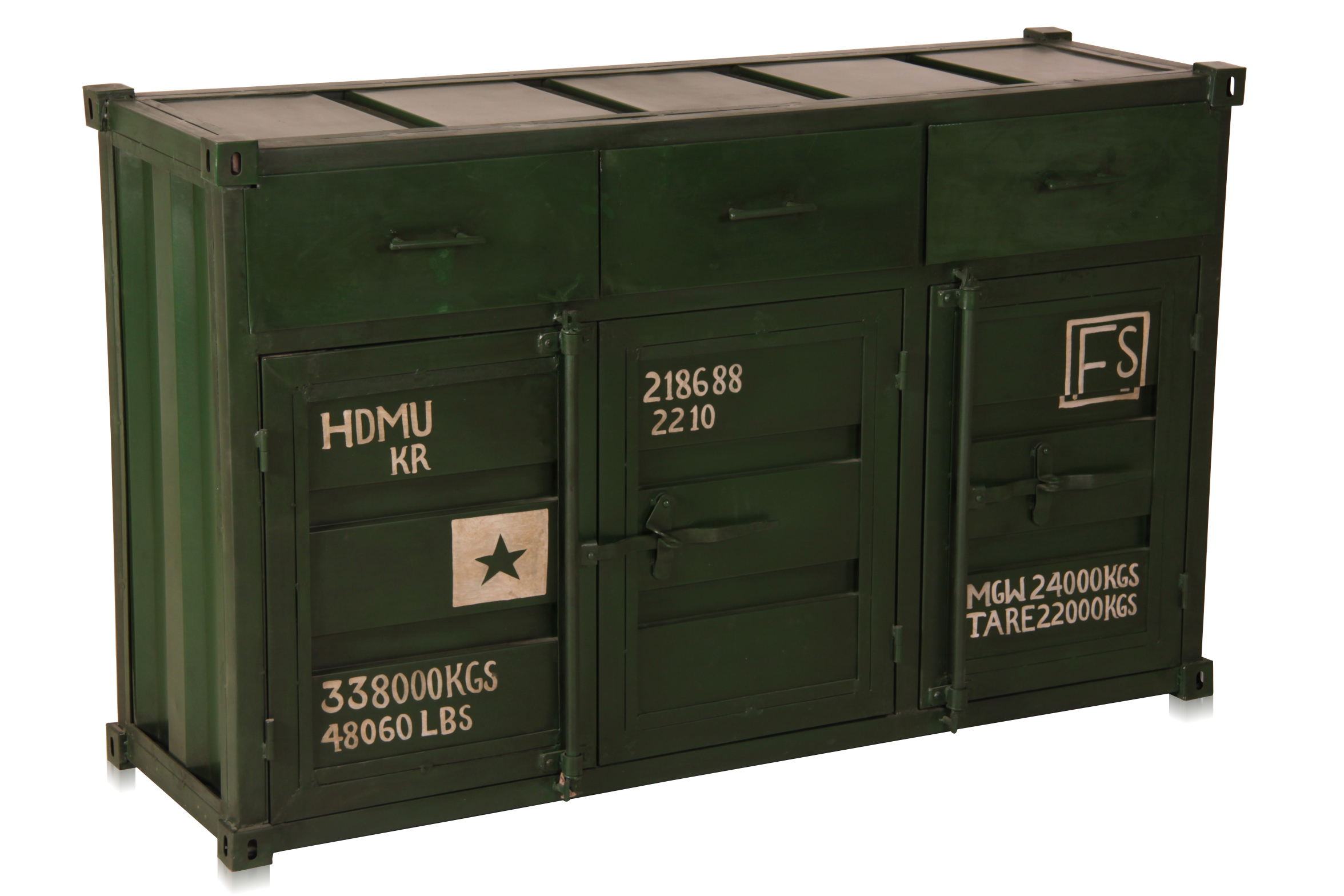 containerm bel kommode eisen. Black Bedroom Furniture Sets. Home Design Ideas