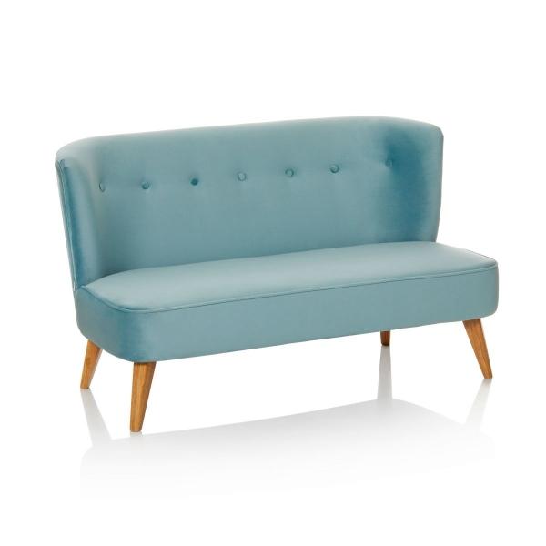 Vintage Sofa Couch Samtbezug