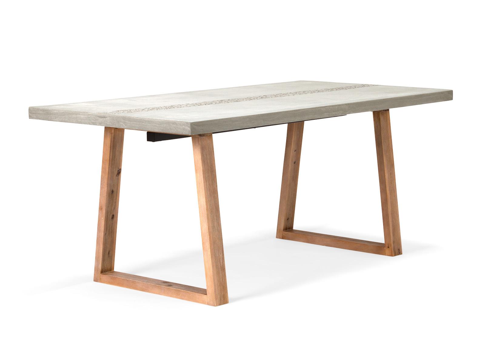 Betontisch Esstisch aus Beton 215x90