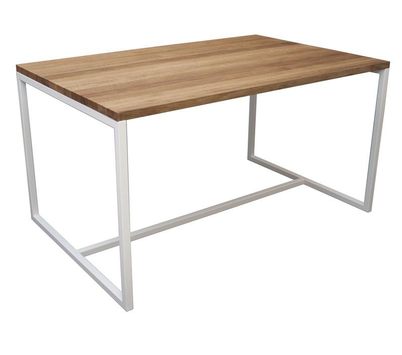 industrie tisch aus massivholz industrial m bel esstisch. Black Bedroom Furniture Sets. Home Design Ideas