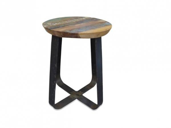Sitzhocker Hocker im Industrie Industrial Chic Design Shabby