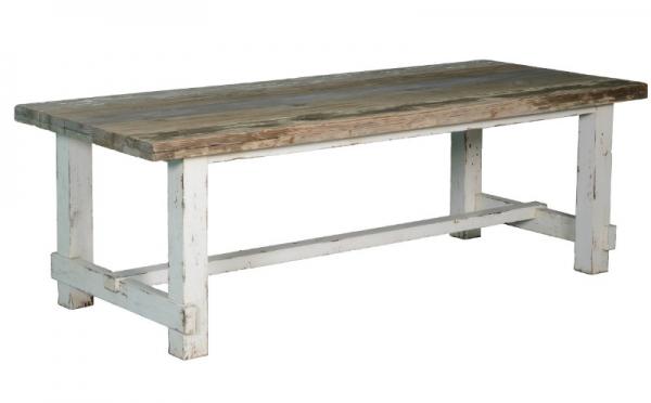 Landhausstil Esstisch aus altem Holz - Kiefernholz