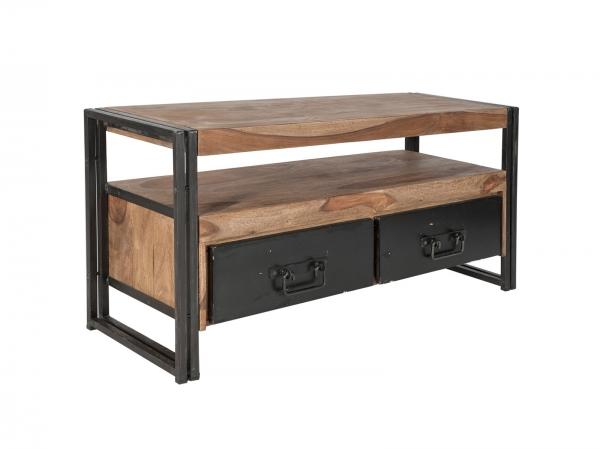 Massivholz Sideboard - Lowboard Panama Industrial Möbel Look