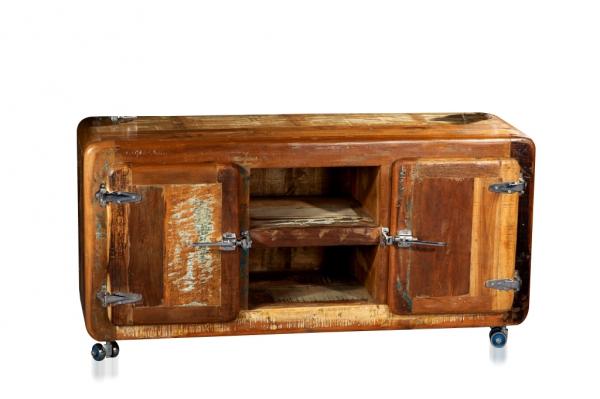 Rollkommode Kommode aus altem Holz Sheesham