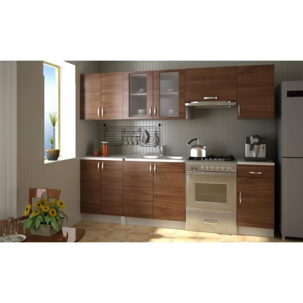 Einbauküche 240 cm Küchenzeile Küche