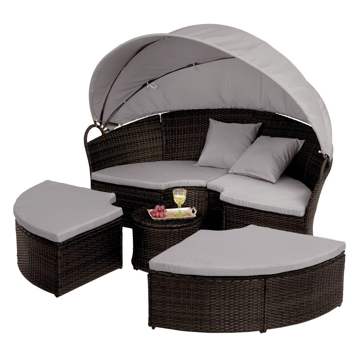rattan gartenm bel sonneninsel. Black Bedroom Furniture Sets. Home Design Ideas