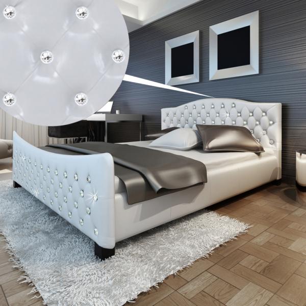 Hochglanz Bett Doppelbett 180 x 200