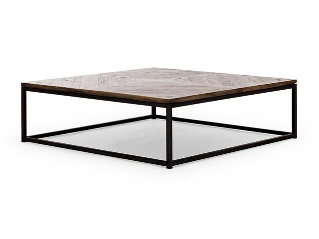 Industrie Look Couchtisch Massivholz  Industrial Möbel -> Couchtisch Holz Industrie