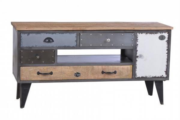 Vintage Lowboard Sideboard Materialmix