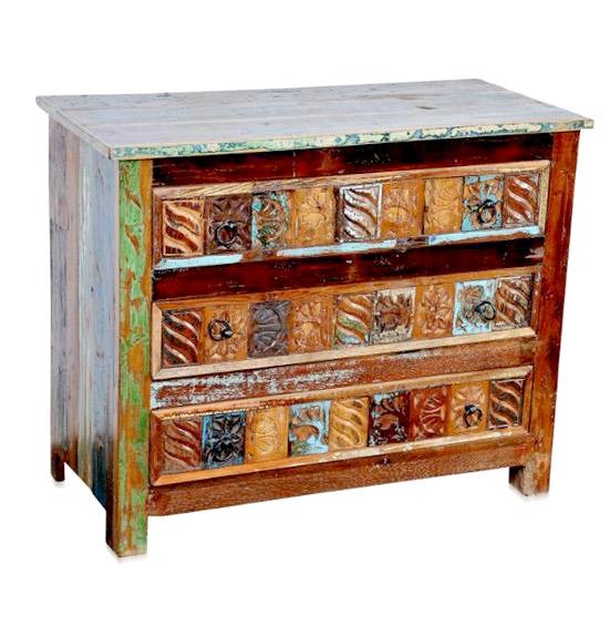 shabby m bel kommode aus massivholz recyclingholz. Black Bedroom Furniture Sets. Home Design Ideas