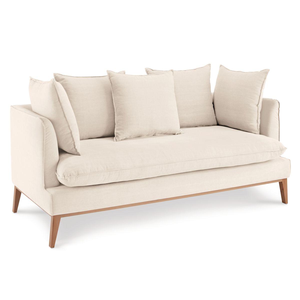 sofa puro aus baumwolle leinen. Black Bedroom Furniture Sets. Home Design Ideas