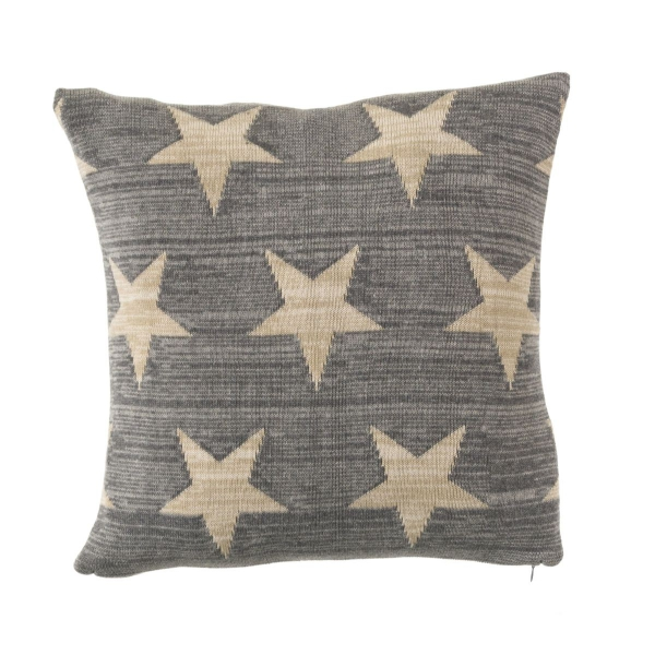 Kissenhülle Melange Stars aus Baumwolle
