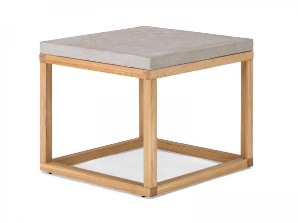 Couchtisch Beton / Eichenholz