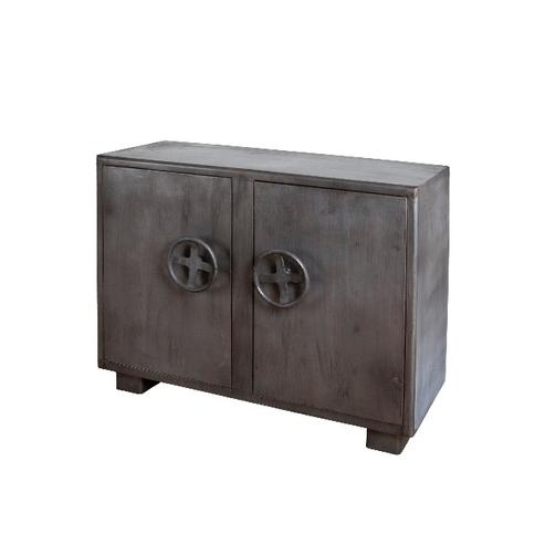 Industrial Chic Sideboard Kommode im Tresor Look
