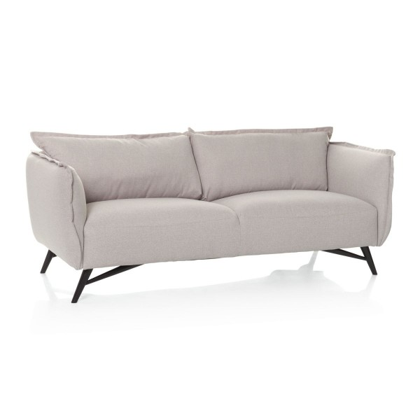 Sofa mit Rückenkissen