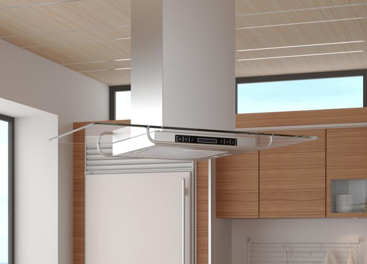 edelstahl dunst abzugshaube abluft. Black Bedroom Furniture Sets. Home Design Ideas