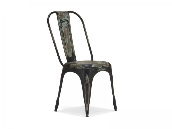 industrial m bel stuhl bistrostuhl im industrielook aus metall. Black Bedroom Furniture Sets. Home Design Ideas