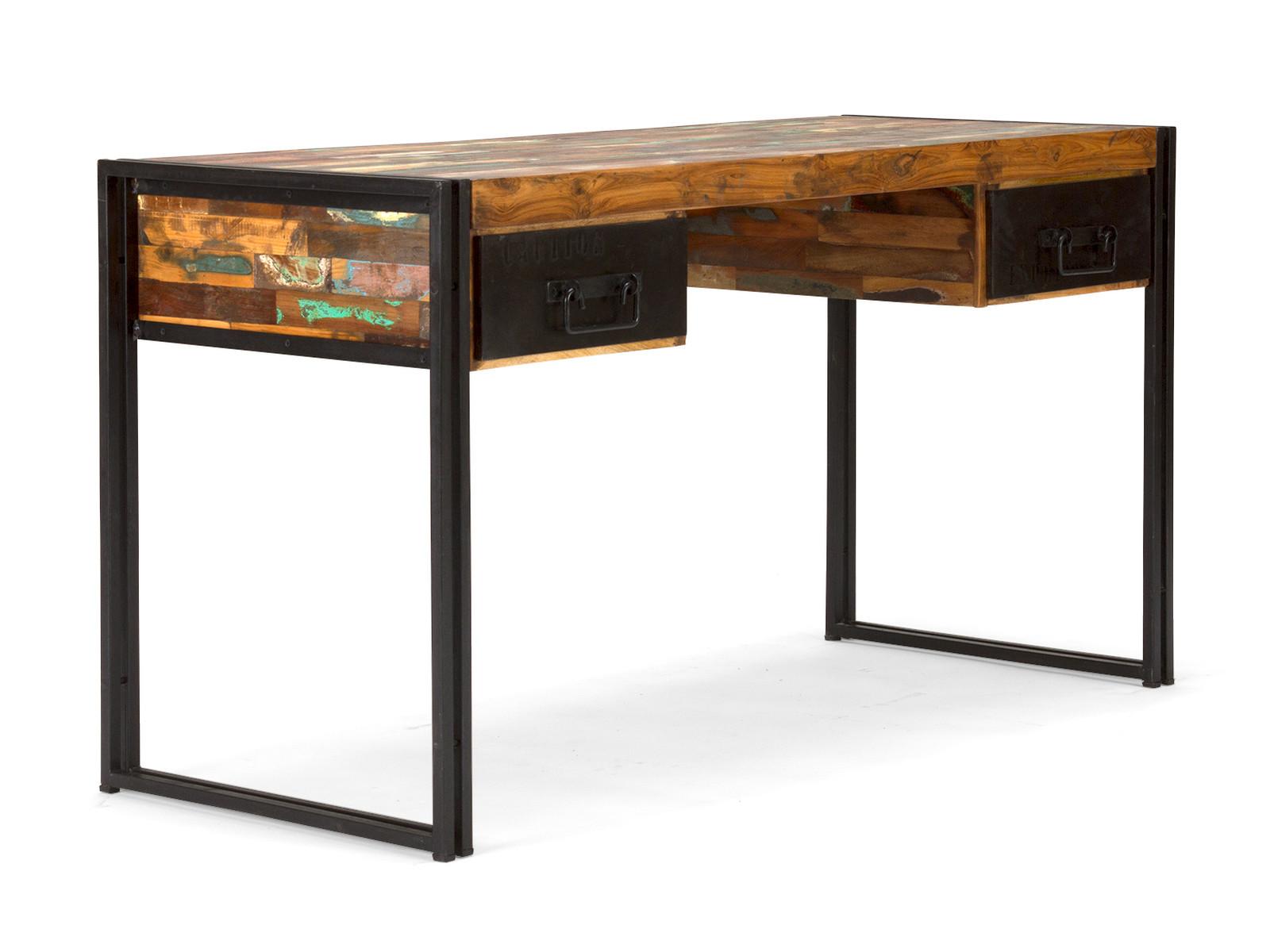 Designermöbel schreibtisch  Massivholz Schreibtisch - Industrie Möbel Style