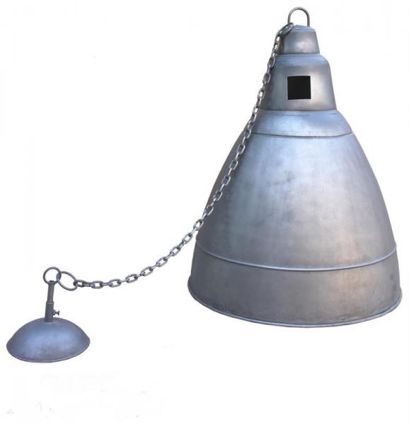Industrial Design Lampe aus Eisen