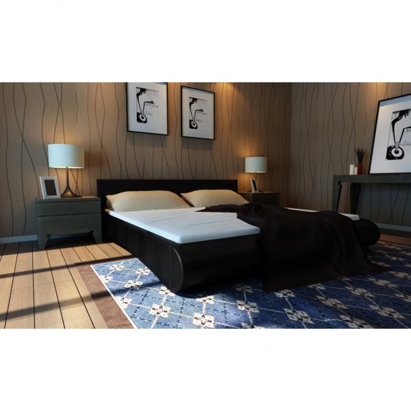 polsterbett mit matratze lattenrost 180 x 200 cm. Black Bedroom Furniture Sets. Home Design Ideas