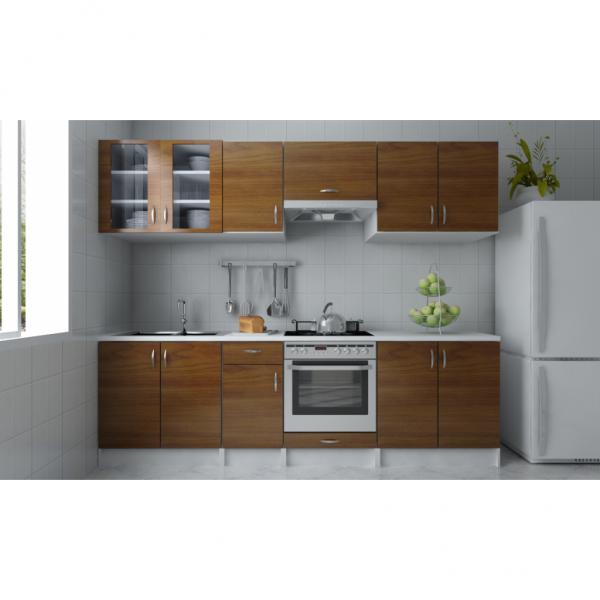 einbauk che k chenzeile. Black Bedroom Furniture Sets. Home Design Ideas