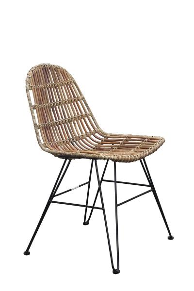 Rattanstuhl - Sessel aus Rattan Korbstuhl