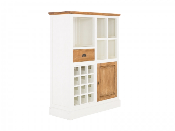 Landhaus Möbel Kommode Highboard aus Massivholz