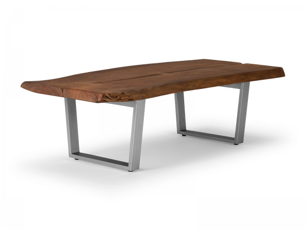Industrie Couchtisch Massivholz - Industrial Möbel