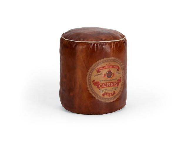 vintage-sitzkissen-pouf-hocker-aus-leder