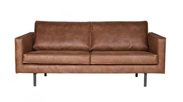BePureHome Sofa 2,5-Sitzer Couch aus Leder - Ledersofa