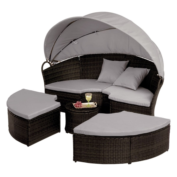 rattan gartenm bel sonneninsel. Black Bedroom Furniture Sets. Home Design Ideas