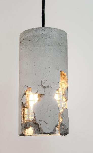 LJ LAMPS delta – Betonlampe Hängeleuchte