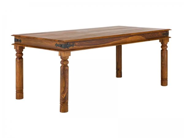 Massivholz Esstisch im Kolonial Möbel Stil | Palisander