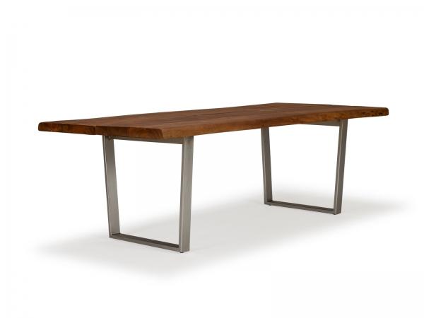 Industrie Esstisch Massivholz - Industrial Möbel