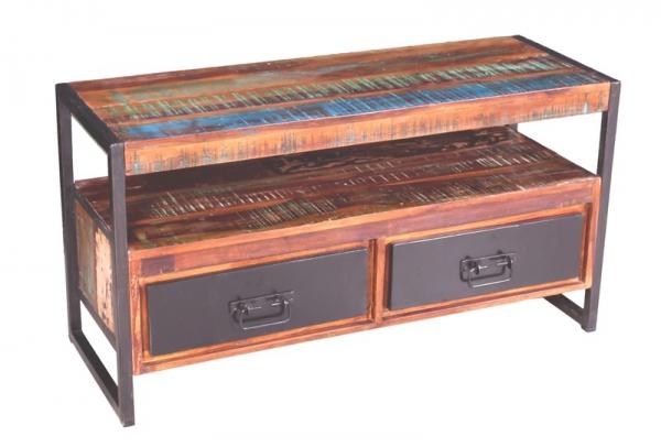 shabby look lowboard vintage kommode. Black Bedroom Furniture Sets. Home Design Ideas