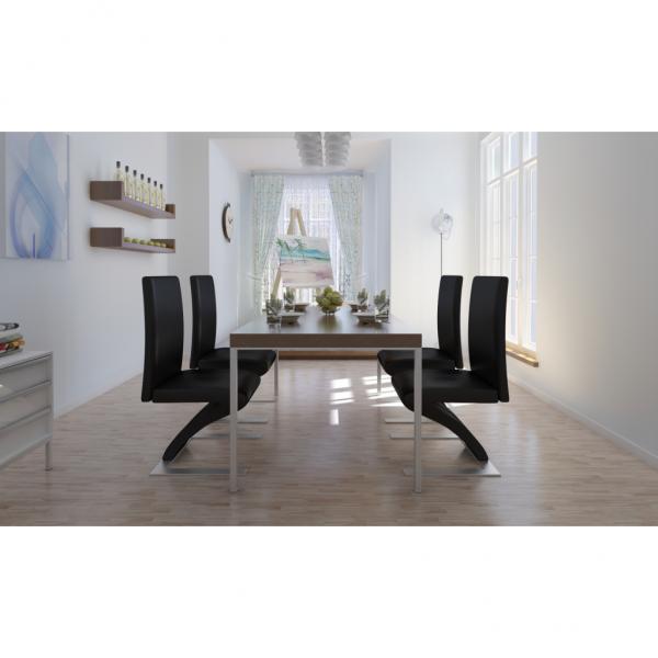 4 Stühle Stuhlgruppe