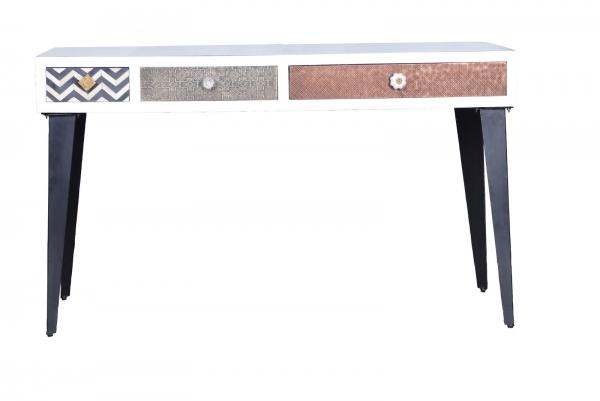 Vintage Tisch Ivory - Materialmix