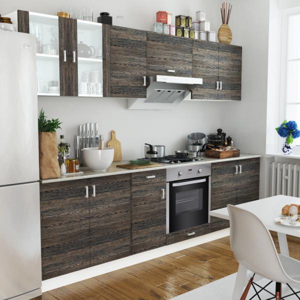 Einbauküche Küchenzeile inkl. Einbauherd