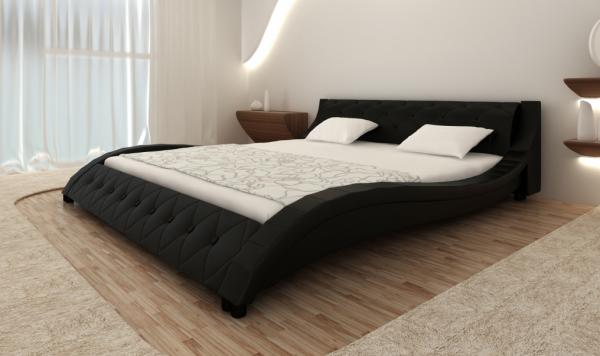 Modernes Doppelbett Polsterbett 180x200cm