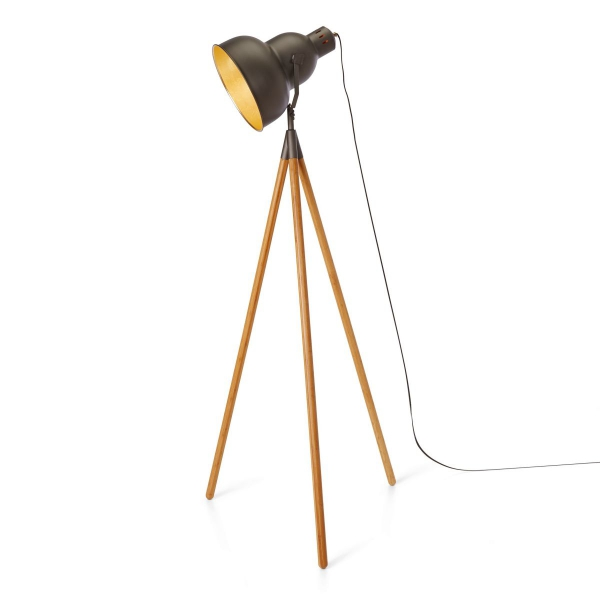 stehlampe industrial style tripod stehleuchte floris industrial style vintage grey stehlampe. Black Bedroom Furniture Sets. Home Design Ideas