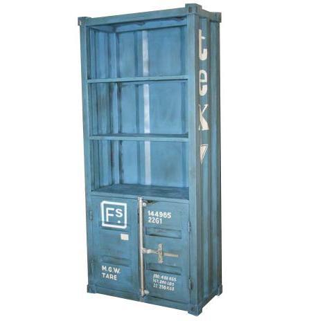 Industrial Container Bücherregal Schrank