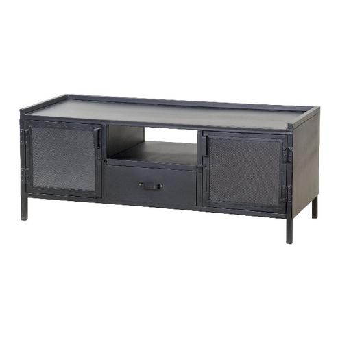 industrial sideboard schwarz industrie look. Black Bedroom Furniture Sets. Home Design Ideas