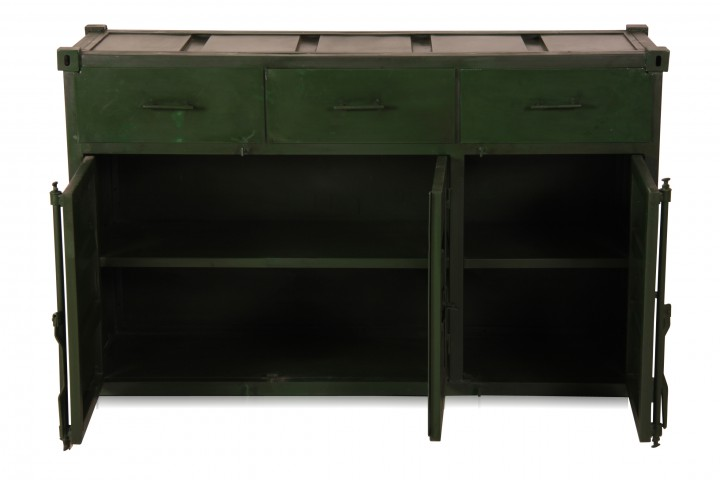 container look kommode aus eisen kommoden industrial. Black Bedroom Furniture Sets. Home Design Ideas