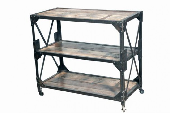 industrial chic design b cherregal wandregal anrichte kommoden industrial shabby. Black Bedroom Furniture Sets. Home Design Ideas