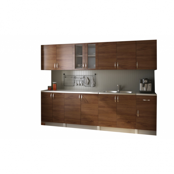 einbauk che k chenzeile k chenblock kitchen 260 cm einbauk chen k che esszimmer. Black Bedroom Furniture Sets. Home Design Ideas